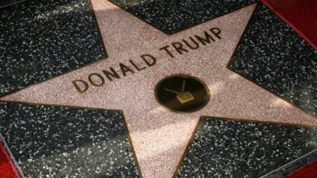 Donald Trump's star removed from Hollywood Walk of Fame permanently