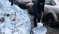 Απίστευτο❗ Μπλε χιόνι έπεσε στην Αγία Πετρούπολη — Άφωνοι οι κάτοικοι.. ➤➕〝📹ΒΙΝΤΕΟ〞