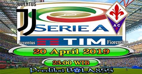 Prediksi Bola855 Juventus vs Fiorentina 20 April 2019
