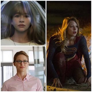 melissa benoist supergirl kara danvers disguise costume poster wallpaper image picture screensaver