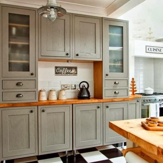 Kuchnia rustykalna  Bajkowe Wnętrza