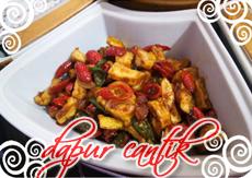 Gambar Masakan Tumis Tahu dan Kulit Melinjo Dapur Cantik