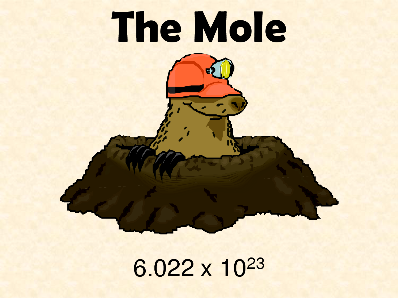 Savvy Chemist The Mole 2 Amount Of Substance And Molar Mass
