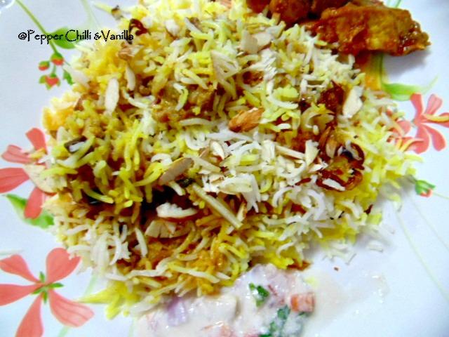 Mutton Mughlai Biryani Recipe/Mughlai Mutton Biryani ...