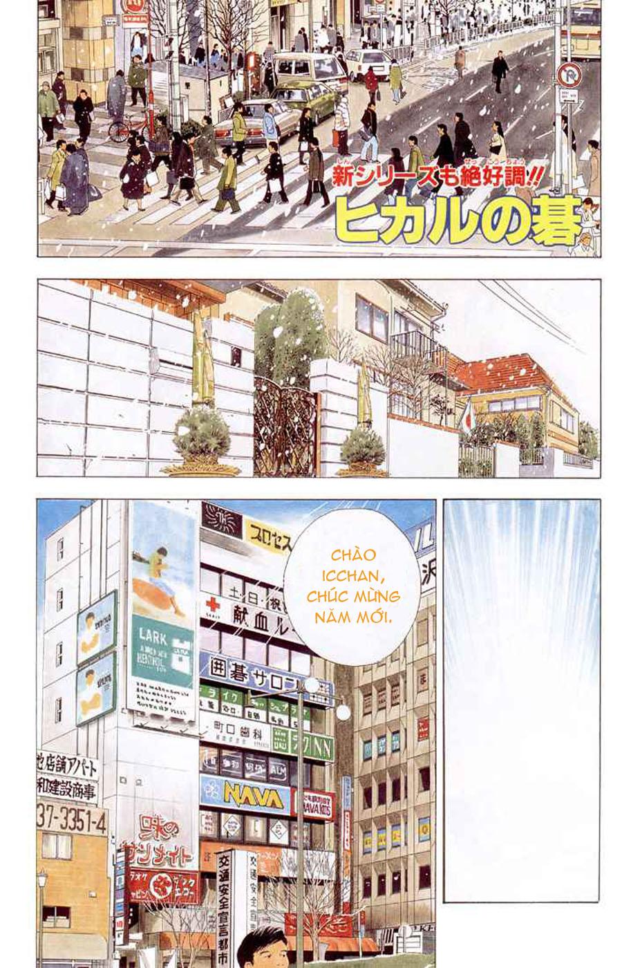 Hikaru No Go hikaru no go chap 152 trang 2