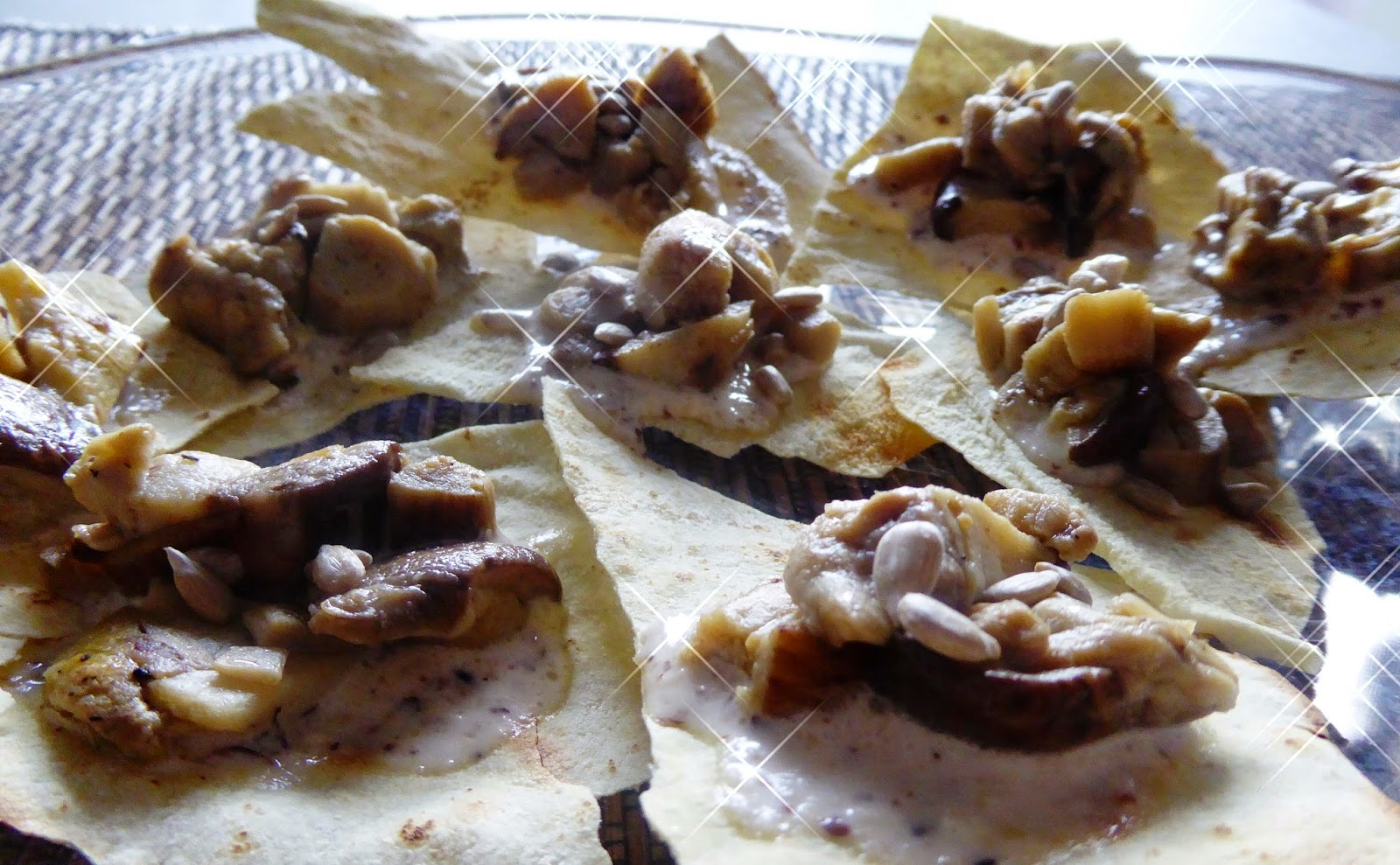 Carasau, formaggi, funghi e nocciole