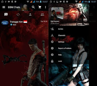 BBM MOD Clone Devil MayCry Mix Base ApkV3.0.0.18