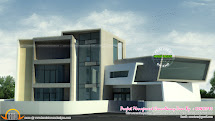 3d View Plan And Finished - Kerala Home Design