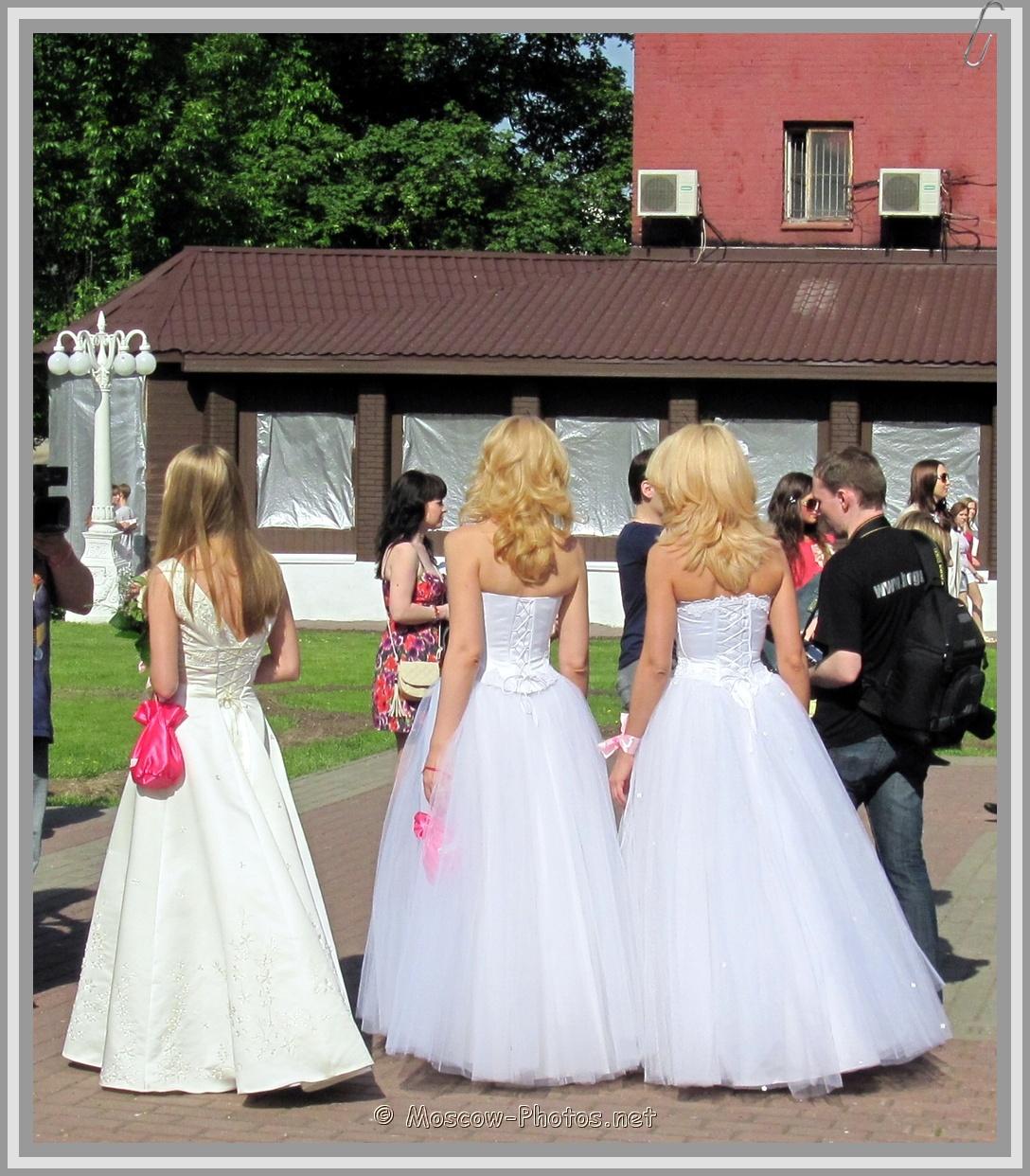 Moscow Blonde Runaway Brides