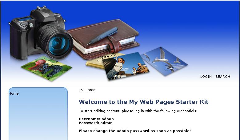 mywebpagesstarterkit