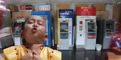 Kenapa Tuyul Tidak Mencuri Uang di ATM Bank
