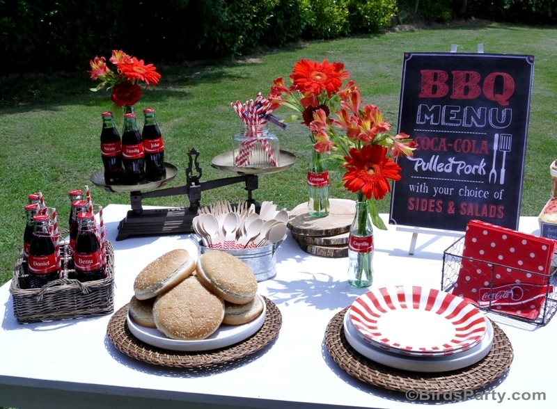 BBQ Cookout Summer Party Ideas - BirdsParty.com