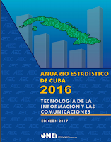Cuban ICT statistics report for 2016