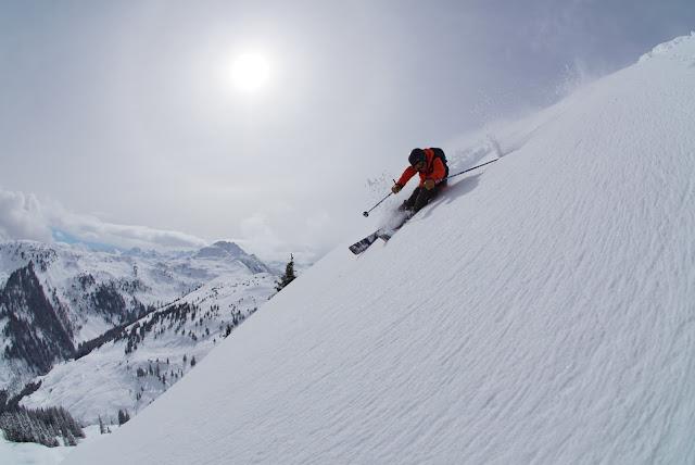 Richtige Technik beim Skifahren