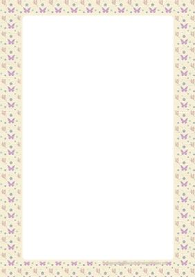 hojas decoradas para imprimir en pdf