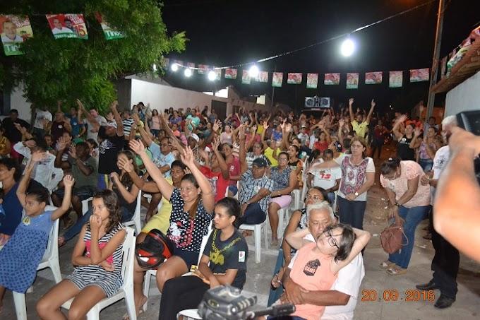Aldeias Altas: Moradores do Residencial Gonçalves Dias declaram apoio ao 15