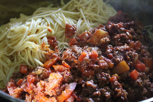 Spaghetti Goreng Azie Kitchen