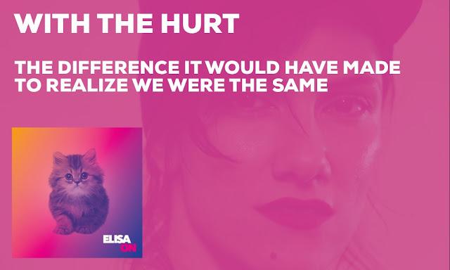 Whit the hurt - Elisa