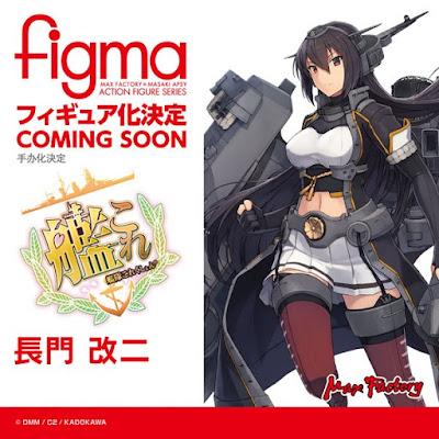 Figma Nagato Kai II de Kantai Collection
