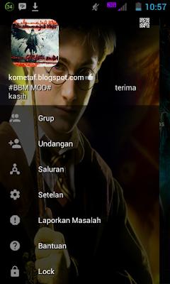 BBM MOD v3.0.1.25 Harry Potter the Shadow Ghost APK Free