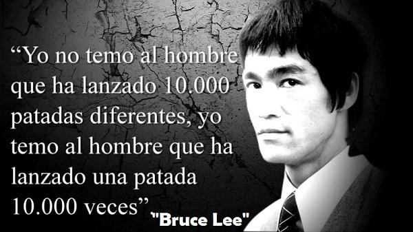 Frases Mas Significativas de Bruce Lee