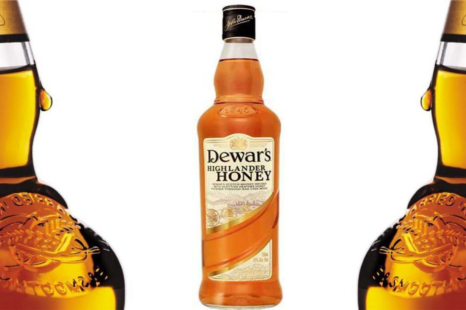 whisky Dewar´s Honey