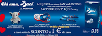 Logo ''Chi Ama, Baci'':  subito per te alle casse uno sconto di 1€