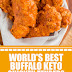 World's Best Buffalo Keto Chicken Tenders #keto #chickentenders