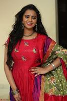 Manasa in Pink Salwar At Fashion Designer Son of Ladies Tailor Press Meet Pics ~  Exclusive 10.JPG