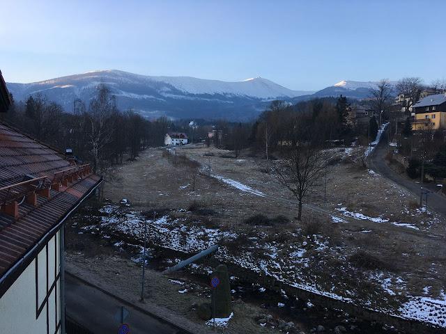 Hotel Nowa Ski, Karpacz, widok na Śnieżkę