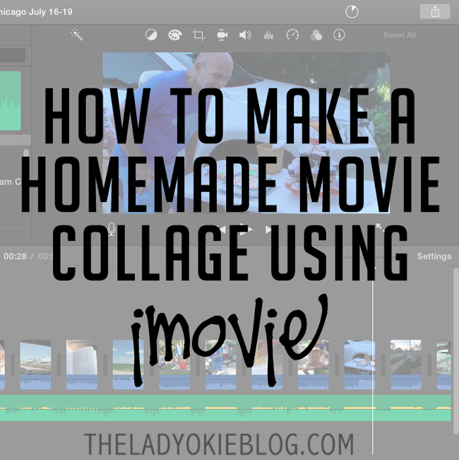 The Lady Okie How To Make Homemade Movie Collages Using Imovie