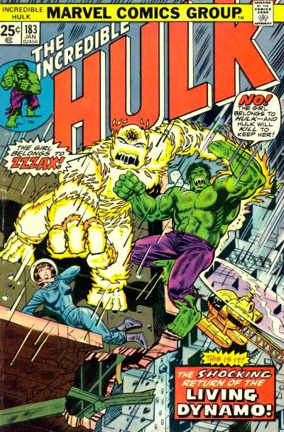 Incredible Hulk #183, Zzzax