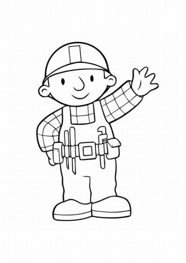 Bob the Builder Coloring Pages | Learn To Coloring