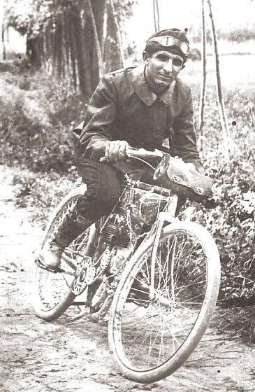 Giuseppe Gilera Motorbike