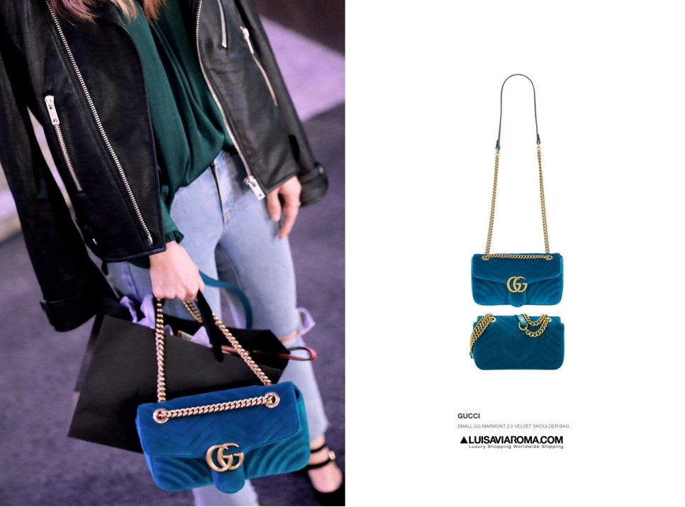 a37a158a0ae0 RekayStyle: Gucci Marmont Velvet look at Korean beauty, LUNA ...