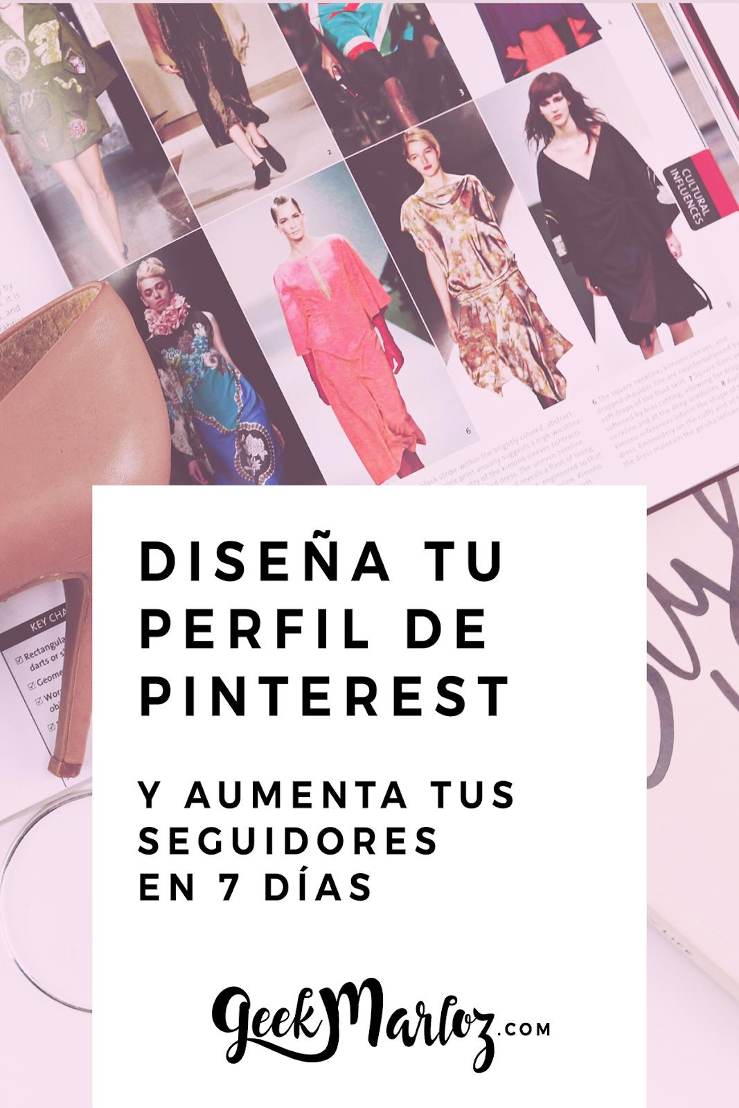 Diseña tu perfil en Pinterest (y obtén más seguidores)