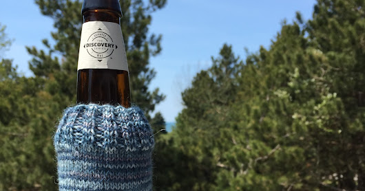 Sent by Sarah: Summy Sky Beer Cozy