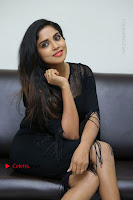 Telugu Actress Karunya Chowdary Latest Stills in Black Short Dress at Edo Prema Lokam Audio Launch .COM 0221.JPG