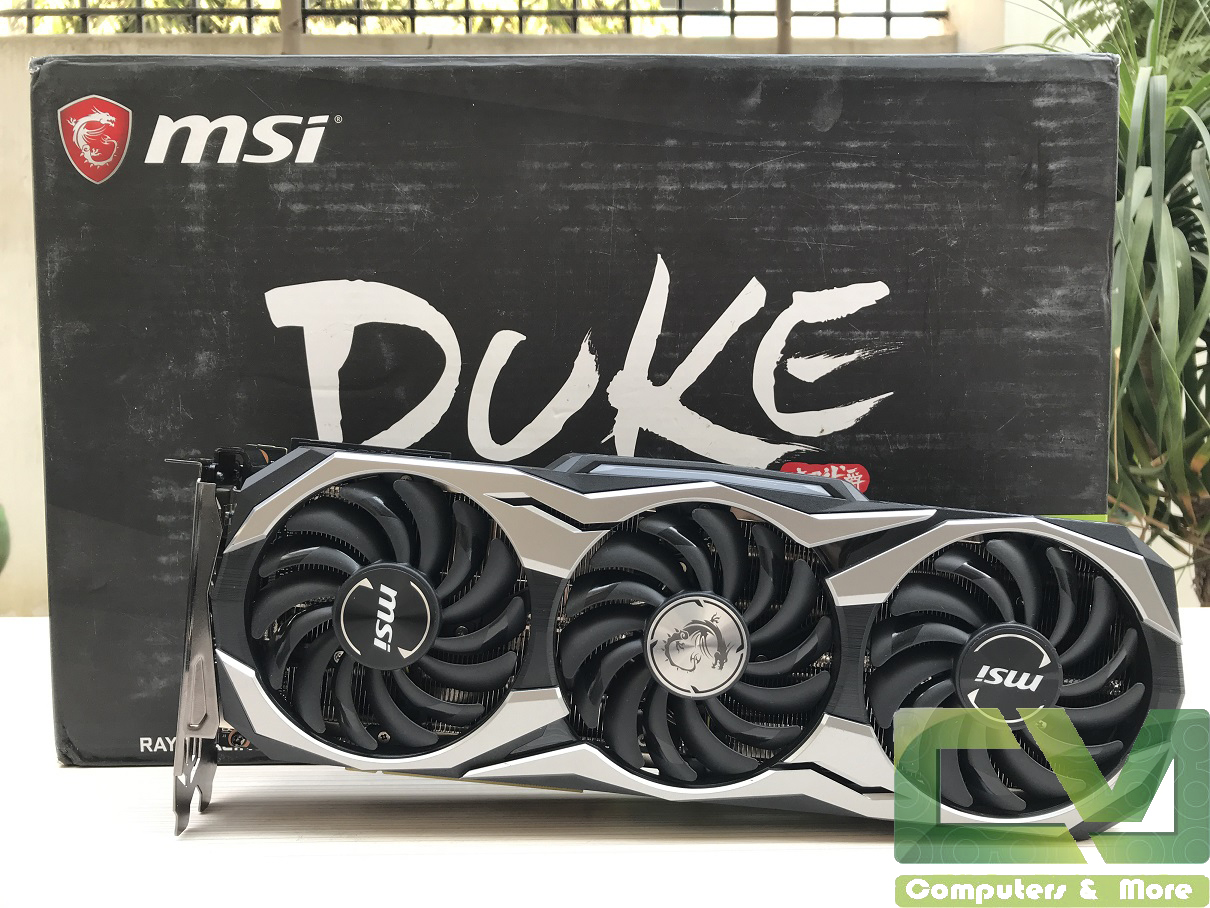 MSI RTX 2080 Duke OC Graphics Card Review ~ Computers and