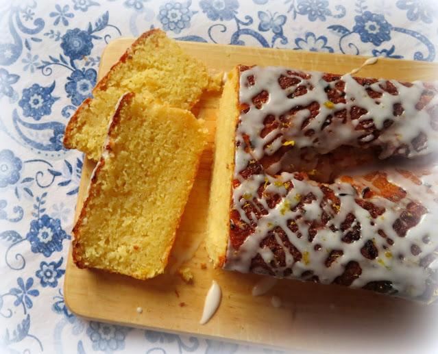 Double Lemon Drizzle Loaf