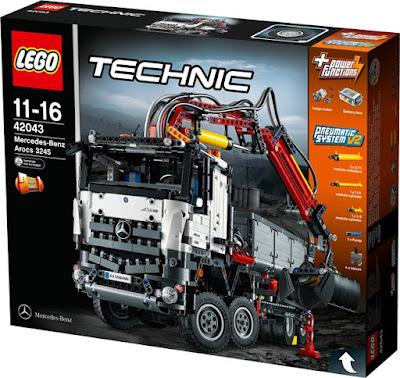the brick castle lego technic mercedes benz arocs 3245. Black Bedroom Furniture Sets. Home Design Ideas