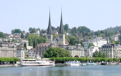 Zurich sông xanh, hoa cỏ