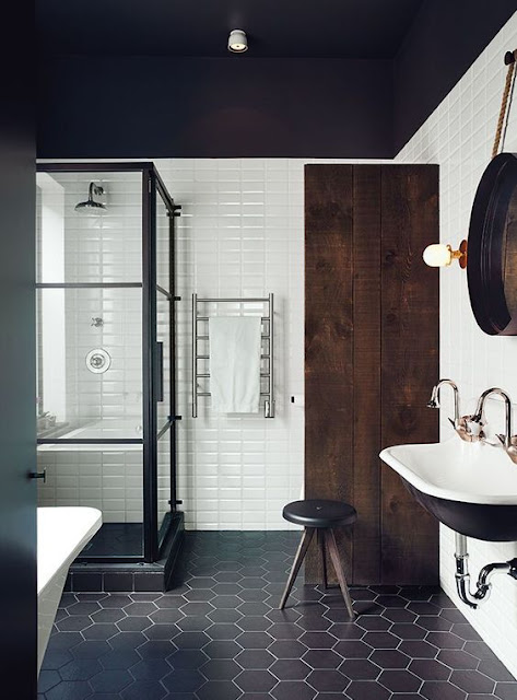 Beau Bathroom Trends That Focus On The Sleek Modern Look Are Much Better Than We  Had Before, But Adding A Touch Of Character With A Vintage Piece Can Be  Even ...