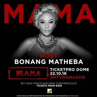 Bonang Matheba Replaces Trevor Noah As MAMAs Host
