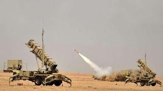 الدفاع الجوي الملكي السعودي يدمر صاروخا باليستيا في سماء جازان