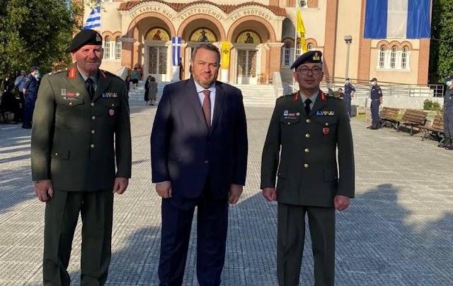 Κομοτηνή: Τους νέους Ταξίαρχους επισκέφθηκε ο Ευριπίδης Στυλιανίδης