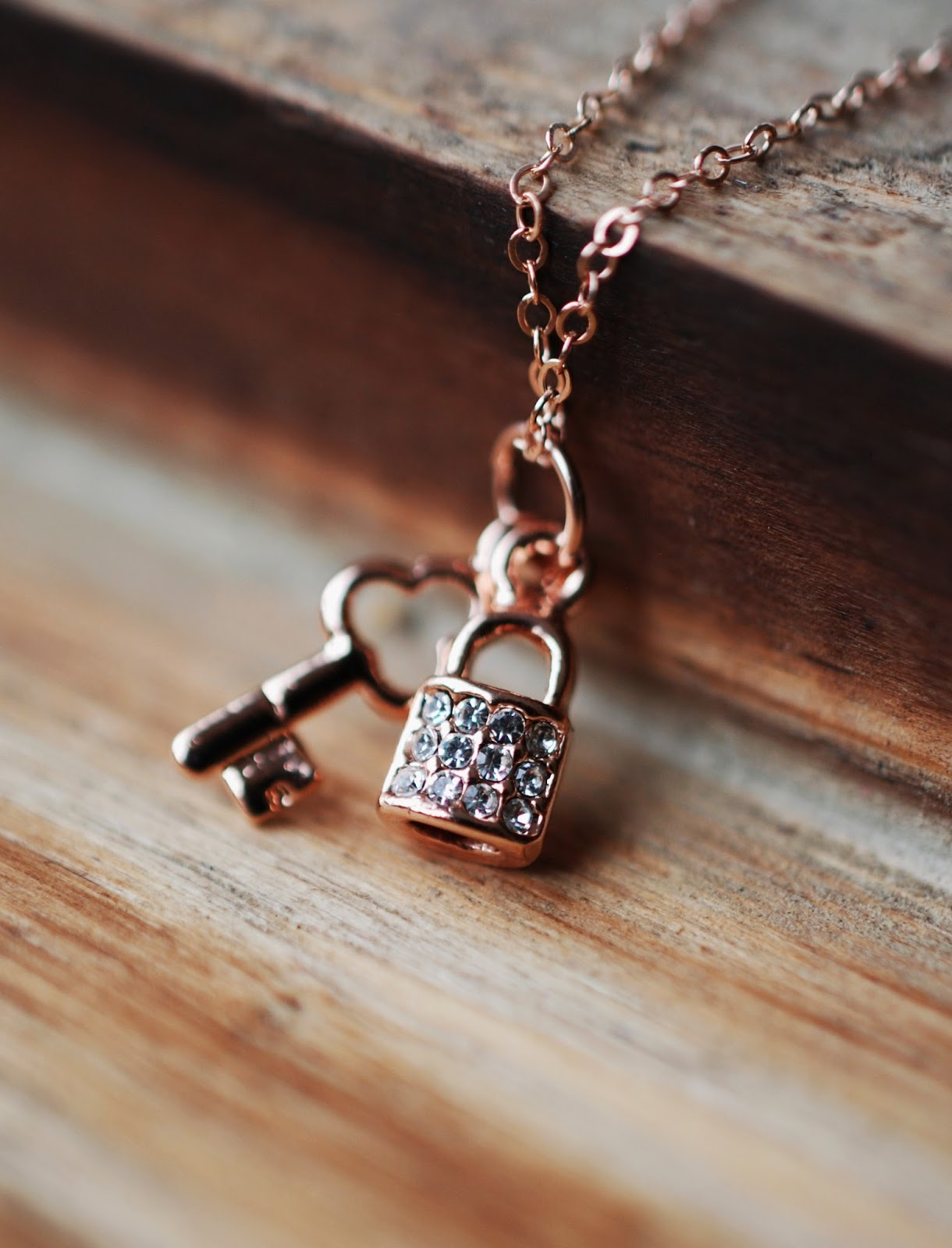 Anita Handmade New Arrival 198 Rose Gold Key Amp Lock