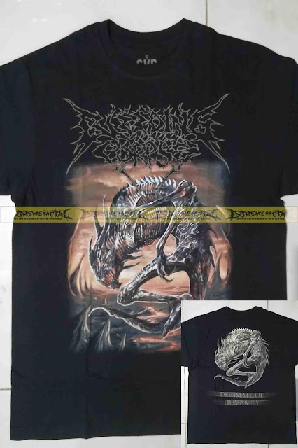 T-Shirt BLEEDING CORPSE - Human