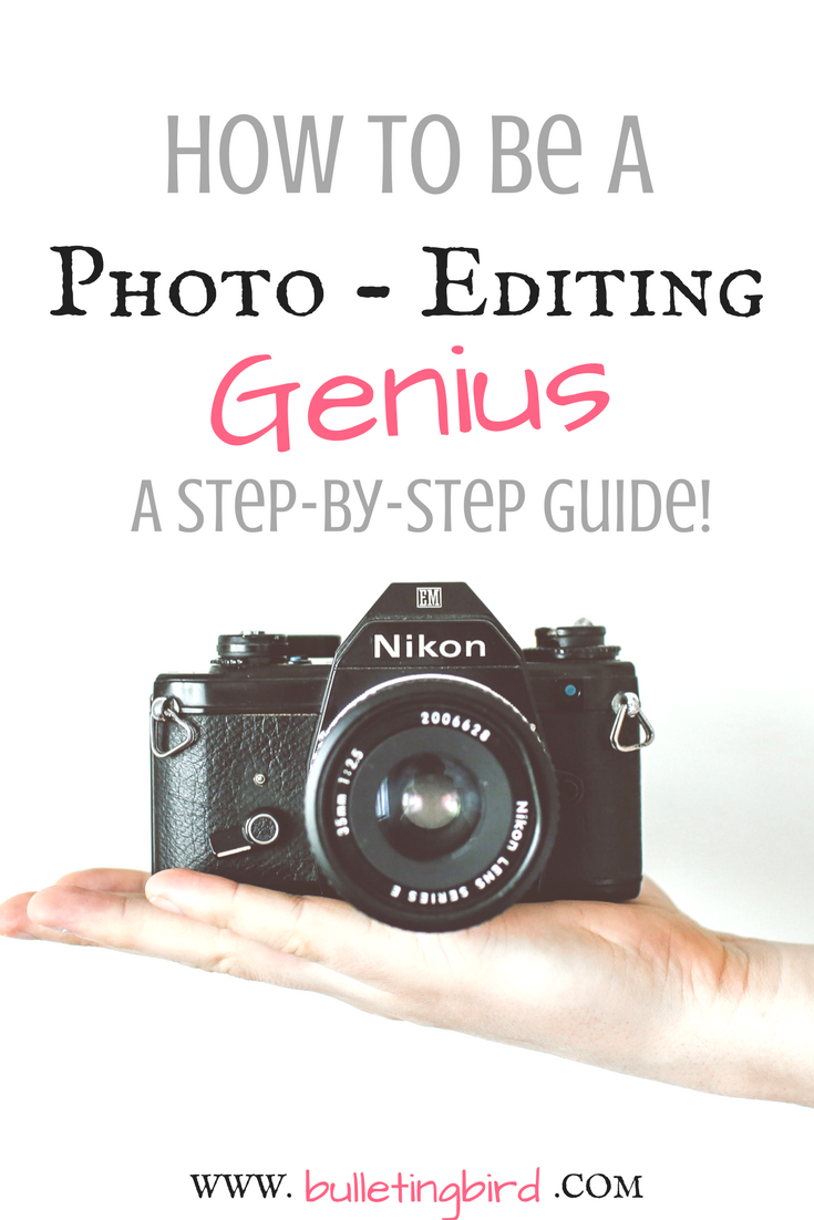 How To Be A Photo-Editing Genius! A step by step guide to using Pixlr's Online Photo Editor, and understanding basic terms + a FREE cheatsheet!