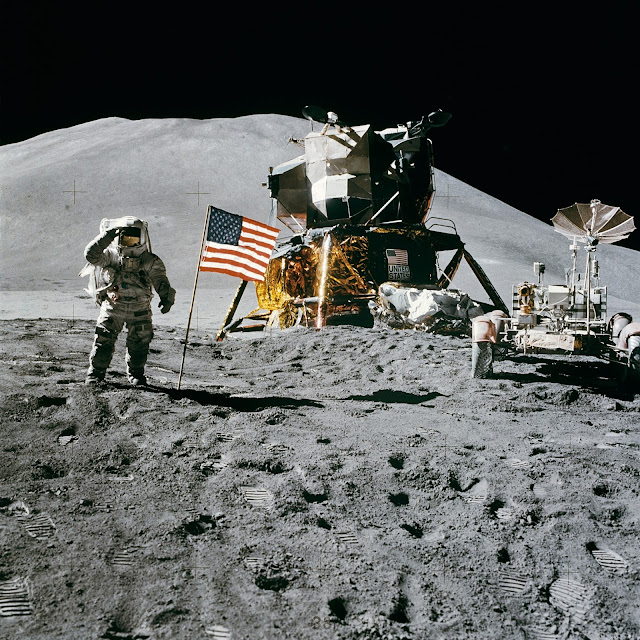 Apollo 15 James Irwin 30-07-1971 La scorribanda legale